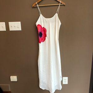 Vintage Natori Neiman Marcus White Maxi Nightgown